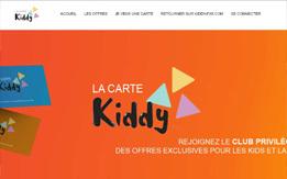 La carte Kiddy